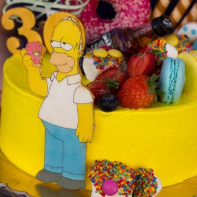 Narozeninový dort «Homer»