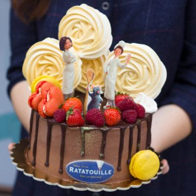 Dětský dort na narozeniny «Ratatouille»