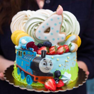 Dětský narozeninový dort na objednávku «Tomáš»