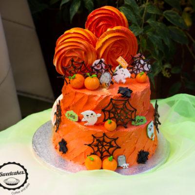 Dvoupatrový dort «Halloween»