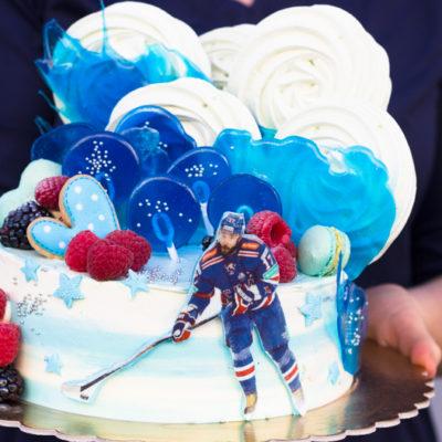 Dort na narozeniny «Hokej»