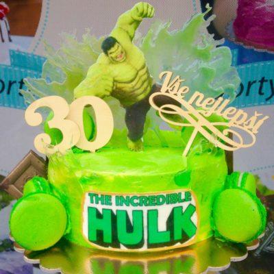 Dort na narozeniny «Hulk»