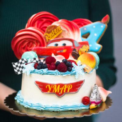 Dětský narozeninový dort «Cars 3»