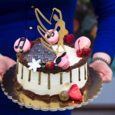 Dětský narozeninový dort na objednávku «Slečna»