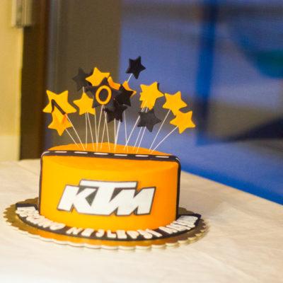 Dort na narozeniny «KTM»