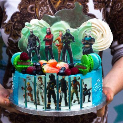 Narozeninový dort na objednávku «Fortnite»