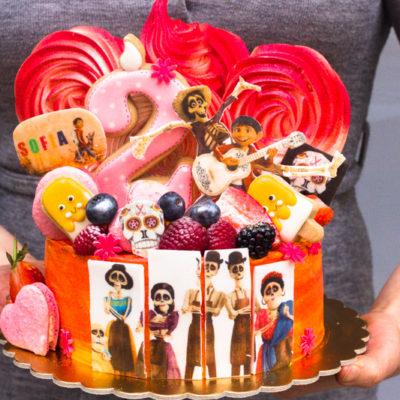 Dětský narozeninový dort «COCO»