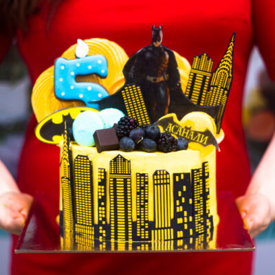 Dětský dort na objednávku «Batman 2»