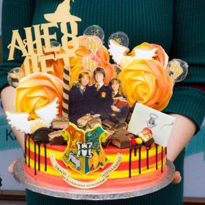 Dětský narozeninový dort na objednávku «Harry Potter»