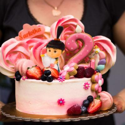 Dětský dort na narozeniny Šarlotka