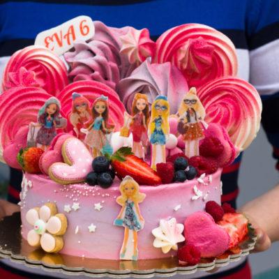 Dětský dort na objednávku Ever After High