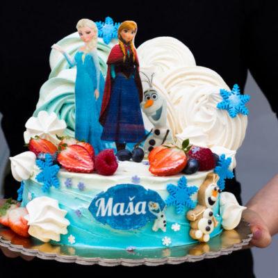 Dětský dort na objednávku Frozen 4