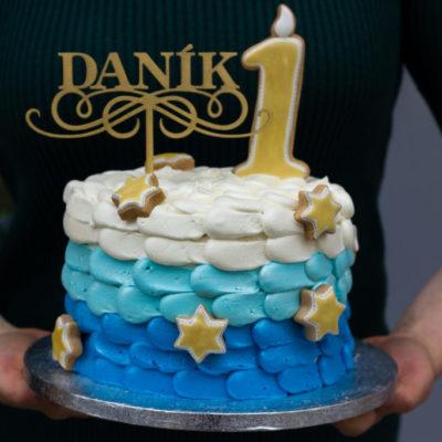 Dětský dort na narozeniny DANÍK