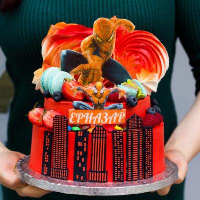 Dětský dort na objednávku Spiderman