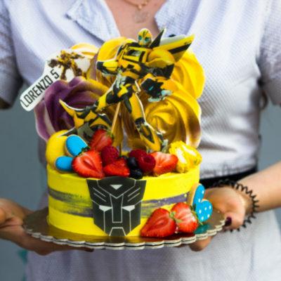 Dětský dort na objednávku Bumblbee