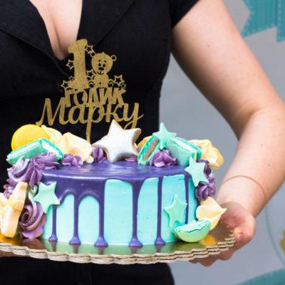 Dětský narozeninový dort První rok