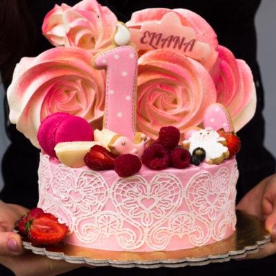 Dětský dort na objednávku Krajka
