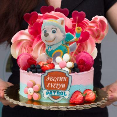 Dětský dort na objednávku Paw Patrol 3