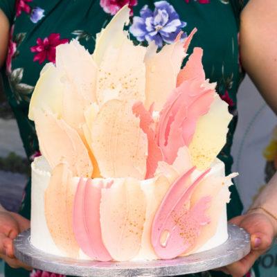 Svatební dort Něha a láska