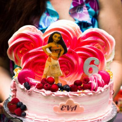 Dětský narozeninový dort Odvážná Vaiana