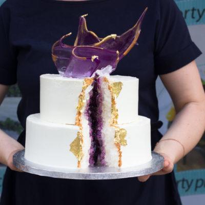 Svatební dort Krystal 2