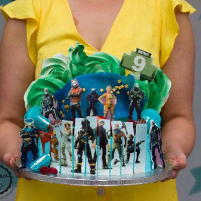 Dětský dort na objednávku Fortnite 3