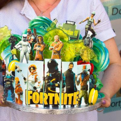 Dětský dort na objednávku Fortnite 2
