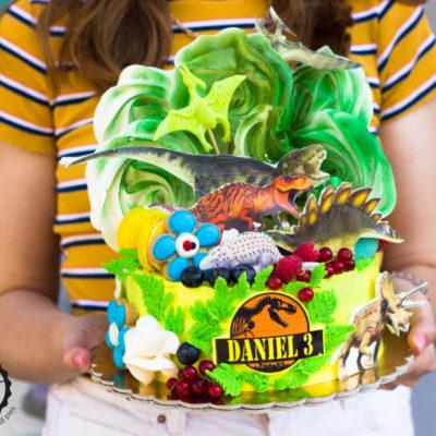 Narozeninový dort Dinosaurus 4