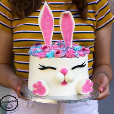 Dětský dort Zajíček