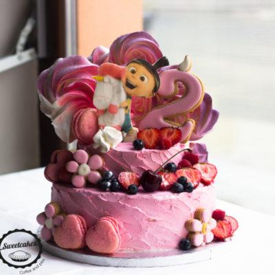 Dětský dort na narozeniny Šarlota 2