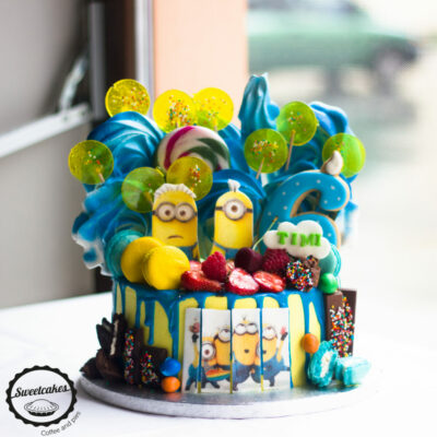 Dětský dort na narozeniny Mimoni