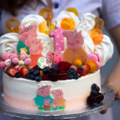 Dětský dort na narozeniny Peppa Pig
