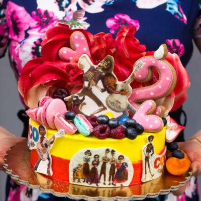 Dětský narozeninový dort COCO (2)