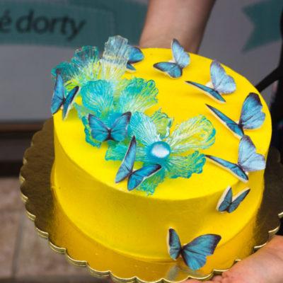Dort na objednávku Modré motýlky