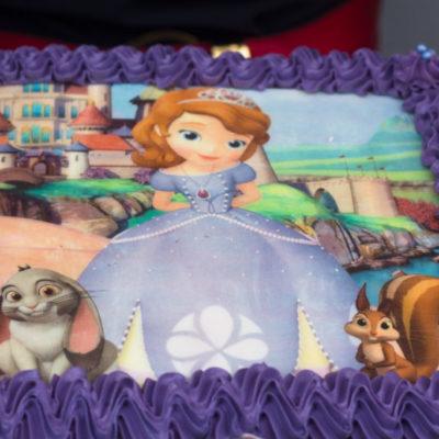 Dětský dort na objednávku princezna Sophie