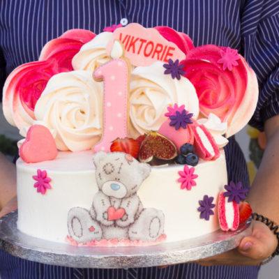 Dětský narozeninový dort Teddy 4