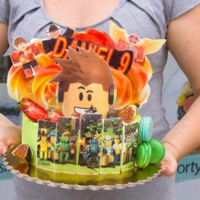Dětský dort na objednávku Roblox 4