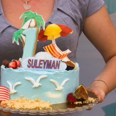 Dětský narozeninový dort Moře