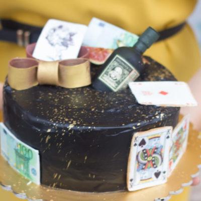 Narozeninový dort pro muže Diplomat