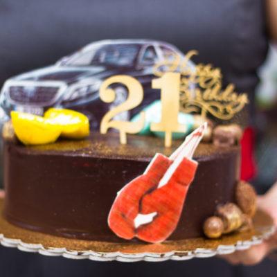 Narozeninový dort pro muže BMW 21