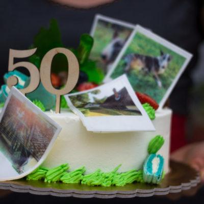 Narozeninový dort pro muže Chata