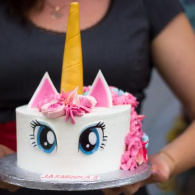 Dětský dort na narozeniny Jednorožec 8