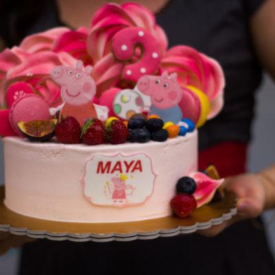 Dětský narozeninový dort Peppa Pig 2