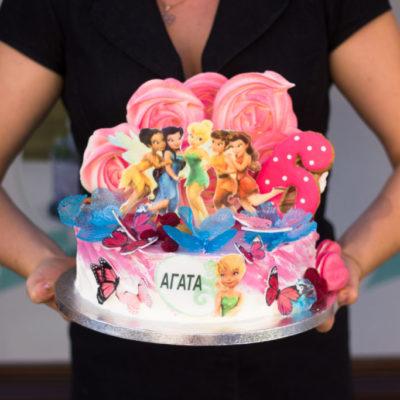 Dětský narozeninový dort Víla 2
