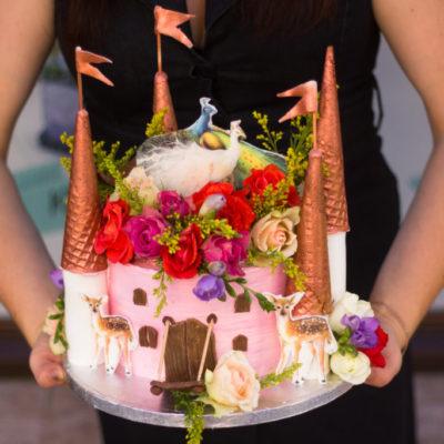 Dětský dort na objednávku Kouzelný Hrad