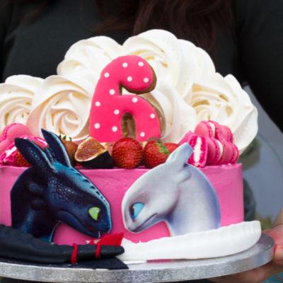 Dětský dort na narozeniny Bezzubka 3