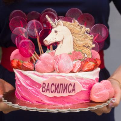 Dětský narozeninový dort Jednorožec 6