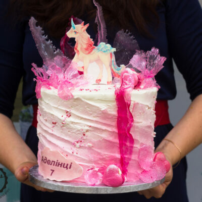 Dětský narozeninový dort Kouzelný Jednorožec
