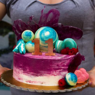 Dětský narozeninový dort Kometa