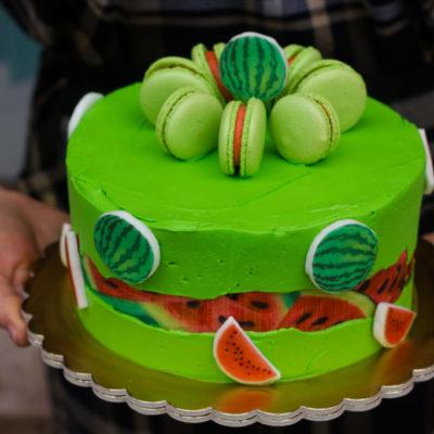 Narozeninový dort Vodní meloun